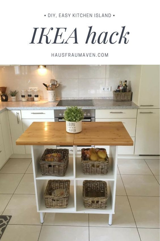 Best ideas about DIY Kitchen Island Ikea . Save or Pin Best 25 Ikea island hack ideas on Pinterest Now.