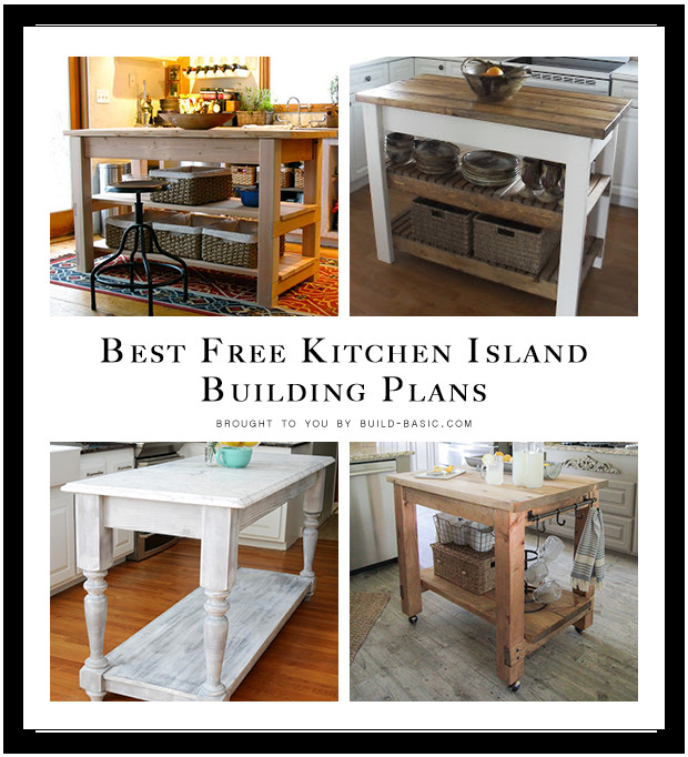 Best ideas about DIY Kitchen Island Plans . Save or Pin Best Free Kitchen Island Building Plans ‹ Build Basic Now.