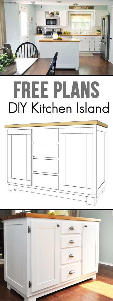 Best ideas about DIY Kitchen Island Plans . Save or Pin 10 Home Decor DIY Features MondayFundayParty Now.