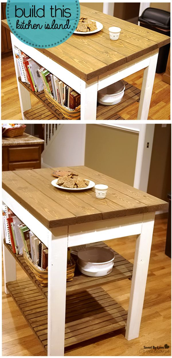 Best ideas about DIY Kitchen Island Plans . Save or Pin Diy Kitchen Island Plans Free WoodWorking Projects & Plans Now.