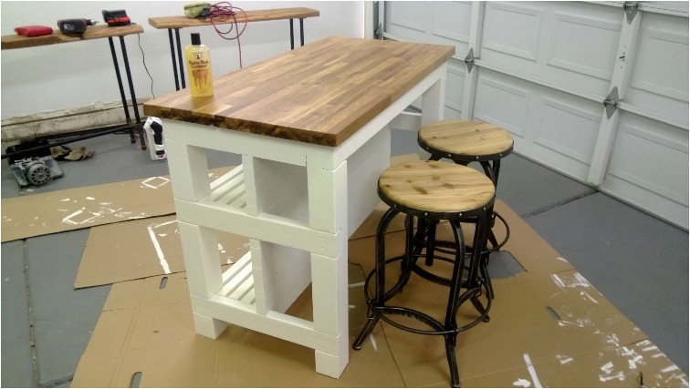 Best ideas about DIY Kitchen Island With Seating . Save or Pin 20 DIY Islands to plete Your Kitchen Ritely Now.
