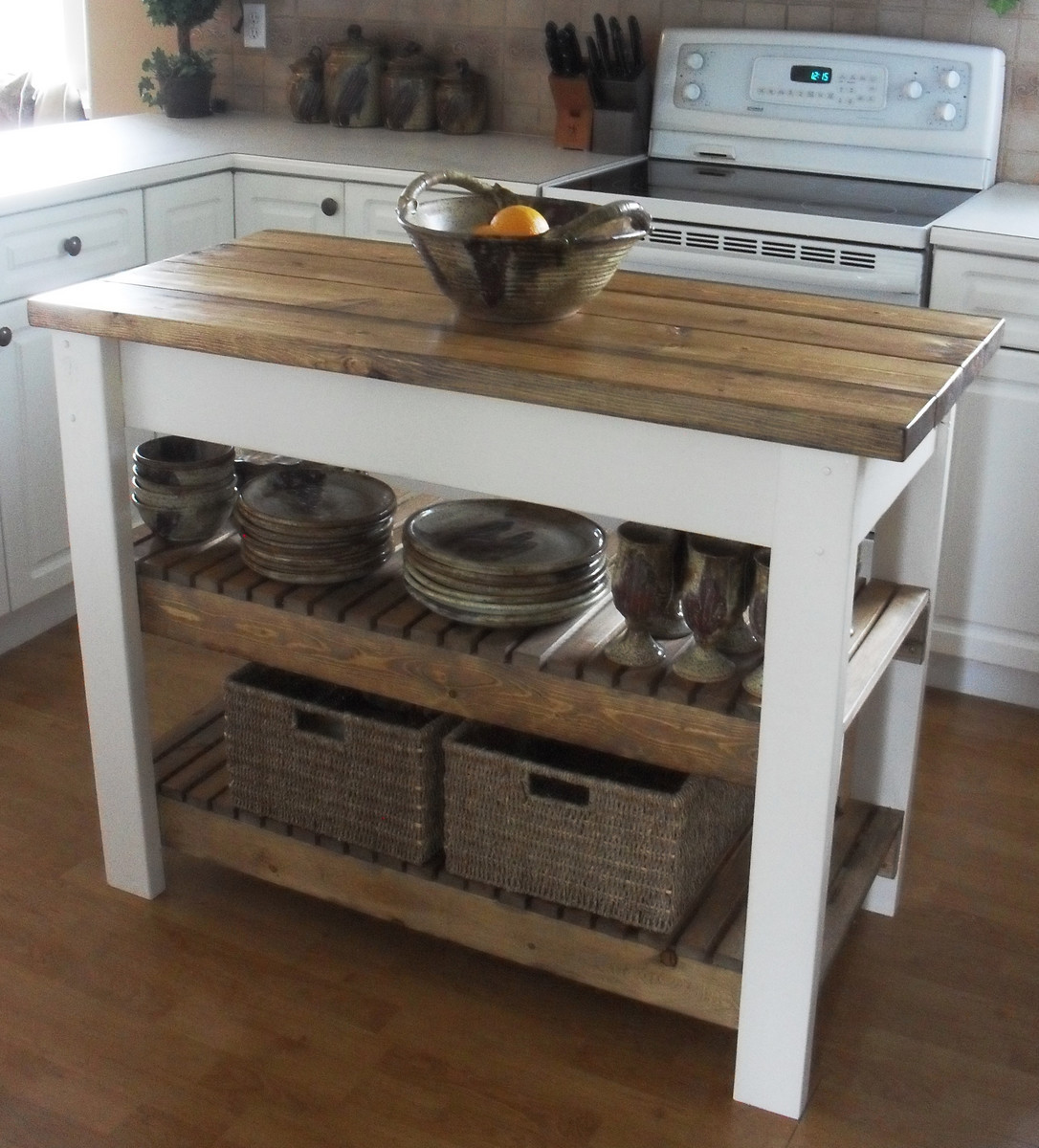 Best ideas about DIY Kitchen Island With Seating . Save or Pin Ana White Now.