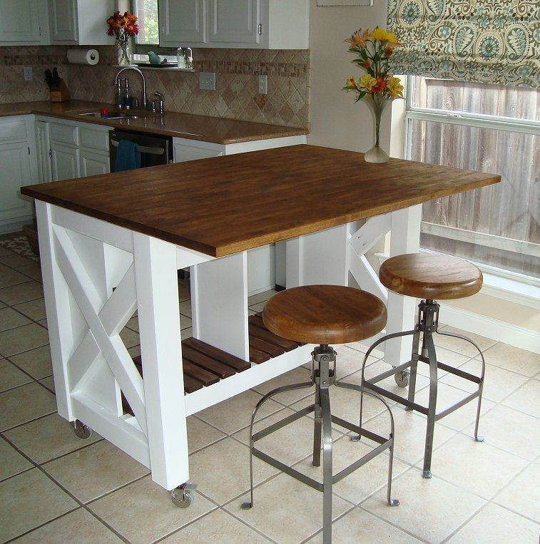 Best ideas about DIY Kitchen Island With Seating . Save or Pin Do It Yourself Kitchen Island Now.
