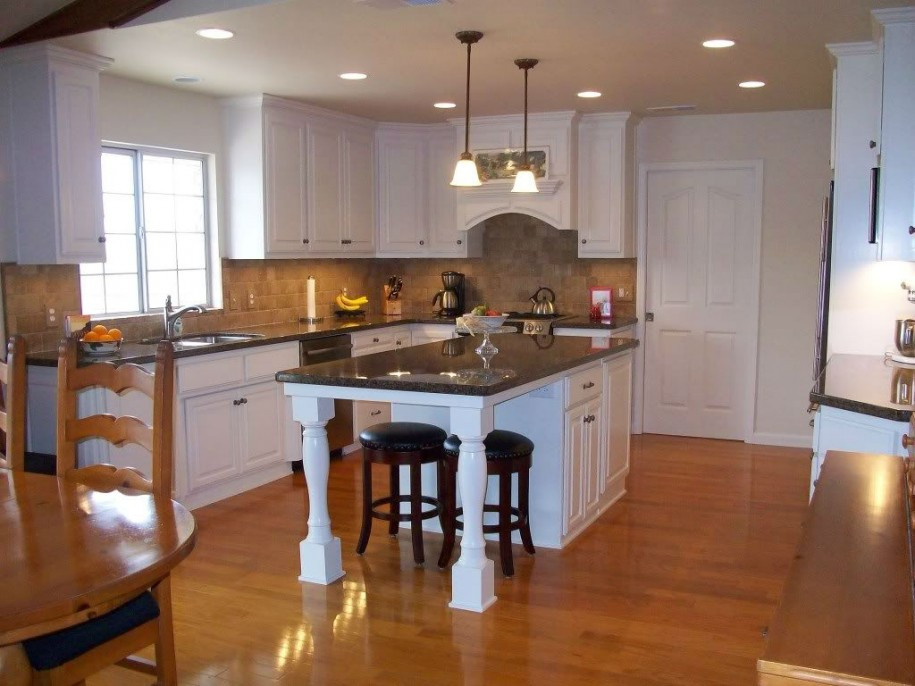 Best ideas about DIY Kitchen Island With Seating . Save or Pin Kitchen Cool Kitchen Decor Using Kitchen Islands With Now.