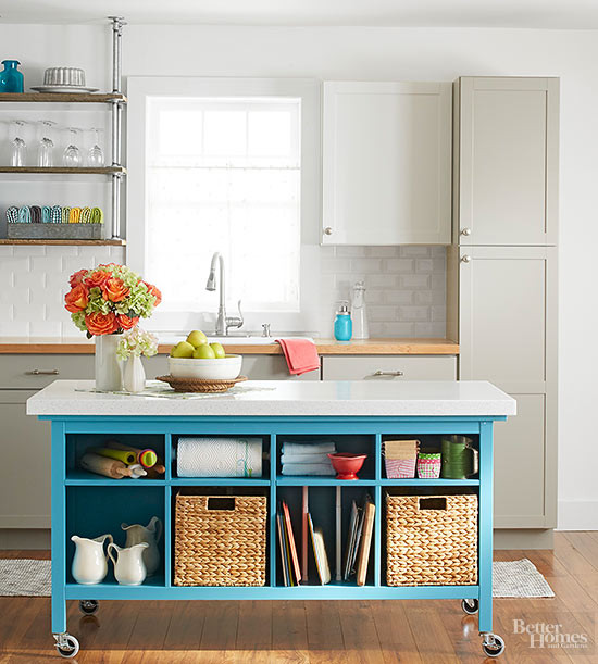 Best ideas about DIY Kitchen Island With Seating . Save or Pin 5 Ways to Update Your Kitchen Without a Major Remodel Now.
