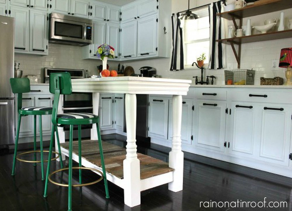 Best ideas about DIY Kitchen Island With Seating . Save or Pin Kitchen Island Seating DIY Kitchen Table 13 Seriously Now.