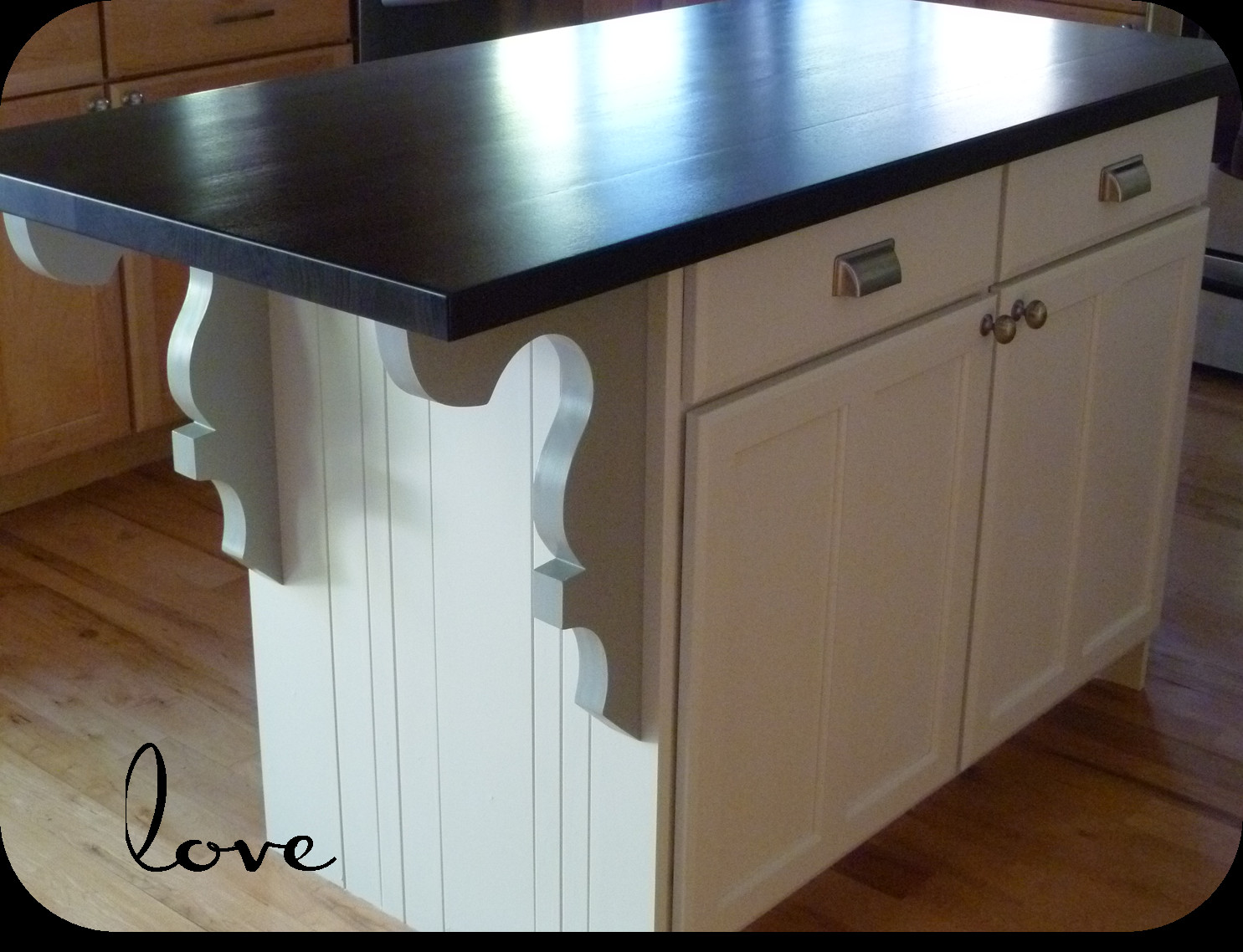 Best ideas about DIY Kitchen Island With Seating . Save or Pin My Suite Bliss DIY Kitchen Island Re do Now.
