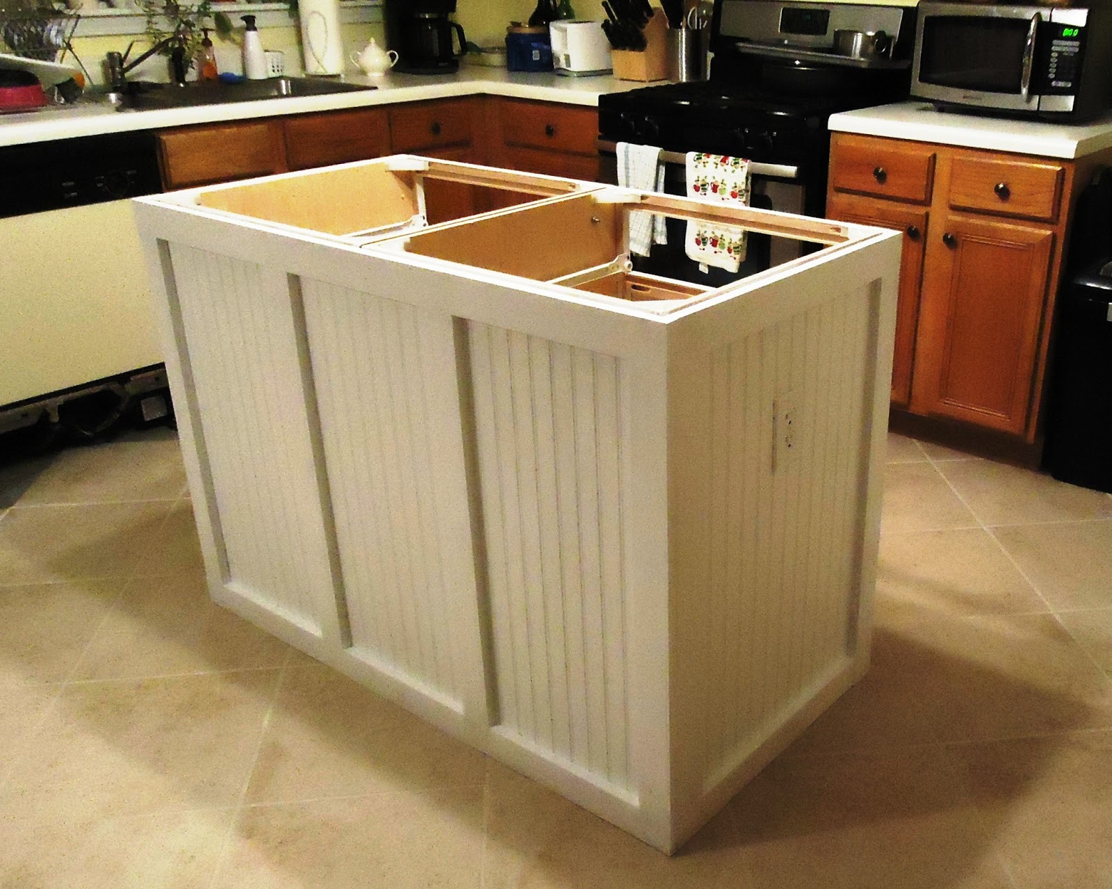 Best ideas about DIY Kitchen Islands Ideas . Save or Pin Walking to Retirement The DIY Kitchen Island Now.
