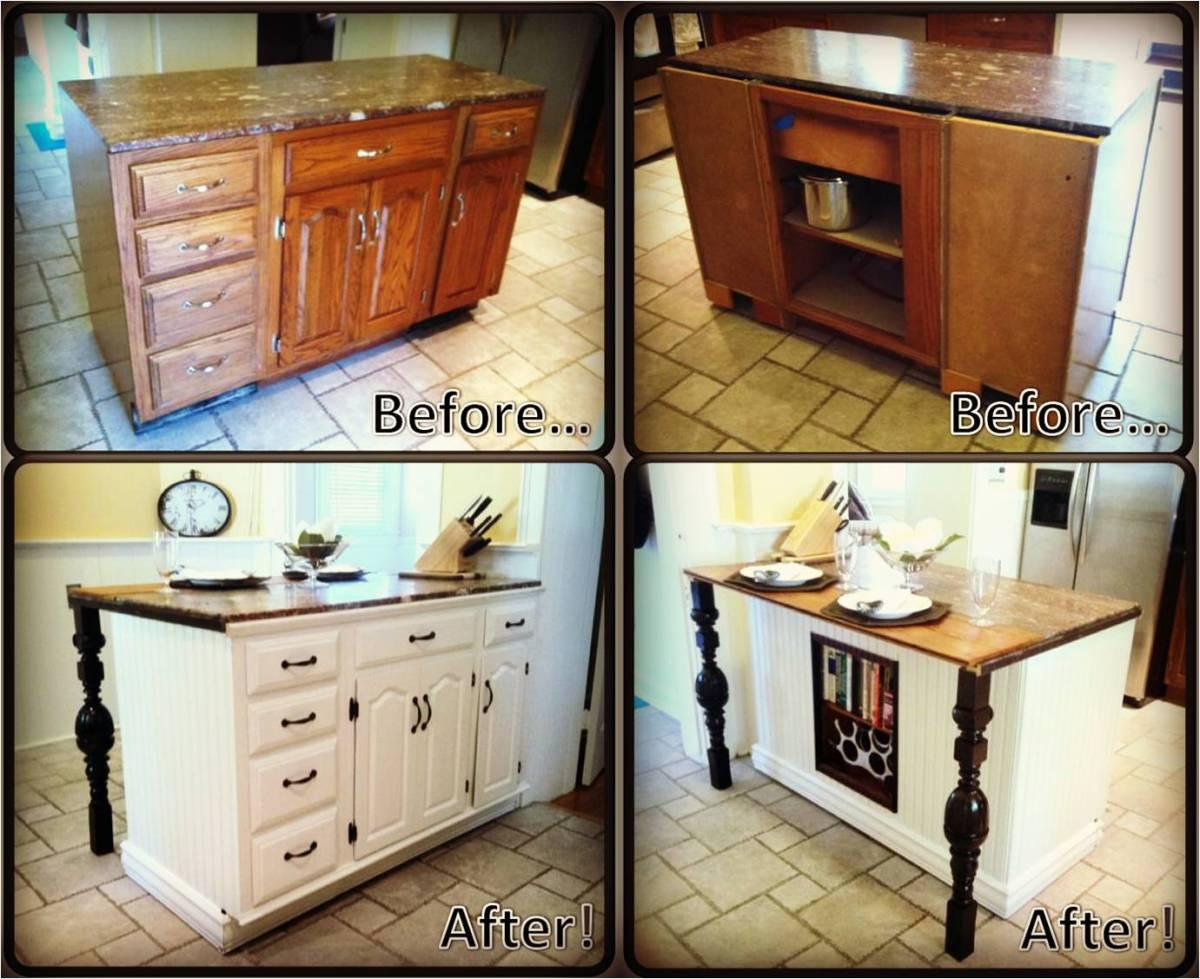 Best ideas about DIY Kitchen Islands Ideas . Save or Pin DIY Kitchen Island Renovation Now.