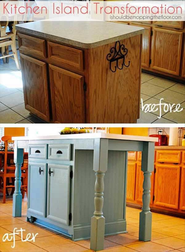 Best ideas about DIY Kitchen Islands Ideas . Save or Pin 32 Simple Rustic Homemade Kitchen Islands Now.