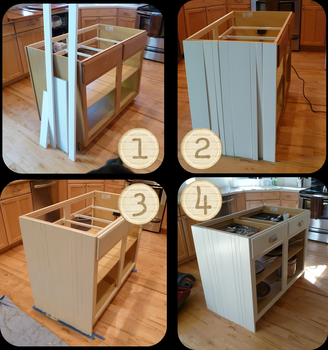 Best ideas about DIY Kitchen Islands Ideas . Save or Pin My Suite Bliss DIY Kitchen Island Re do Now.