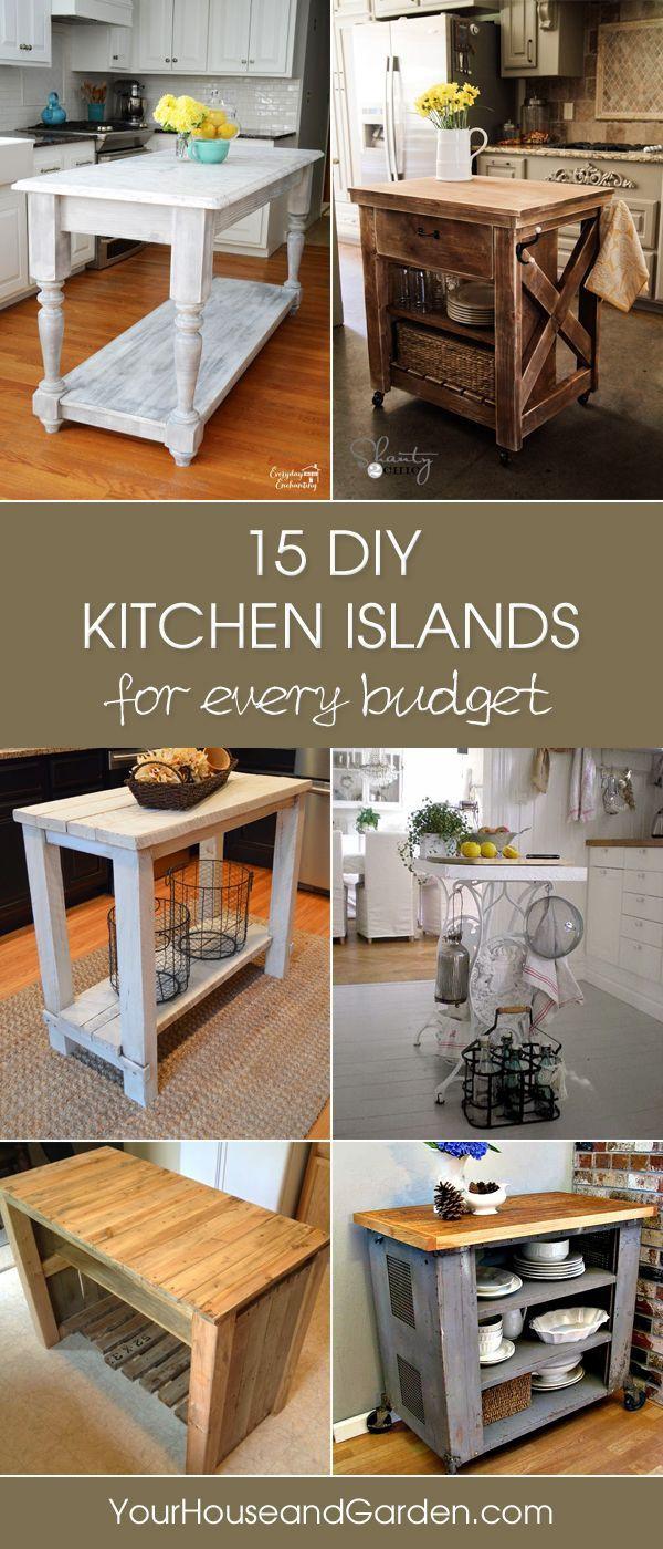 Best ideas about DIY Kitchen Islands Ideas . Save or Pin Best 25 Diy kitchen island ideas on Pinterest Now.