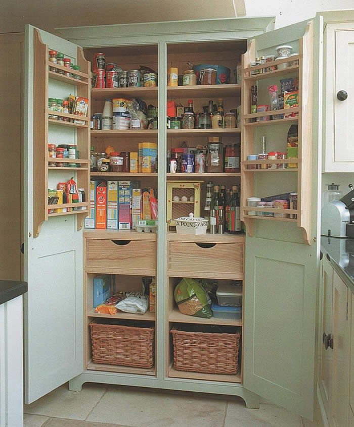 Best ideas about DIY Kitchen Pantry . Save or Pin Build a freestanding pantry Now.