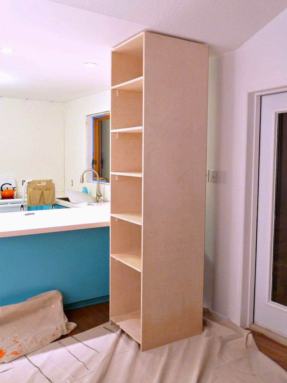 Best ideas about DIY Kitchen Pantry Cabinet . Save or Pin Kitchen Progress DIY Pantry Cabinet Working Around the Now.