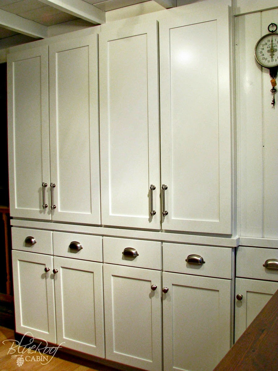Best ideas about DIY Kitchen Pantry Cabinet . Save or Pin blue roof cabin DIY Pantry Cabinet Using Custom Cabinet Doors Now.