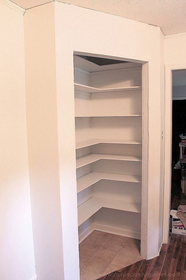 Best ideas about DIY Kitchen Pantry . Save or Pin DIY Corner Pantry Now.