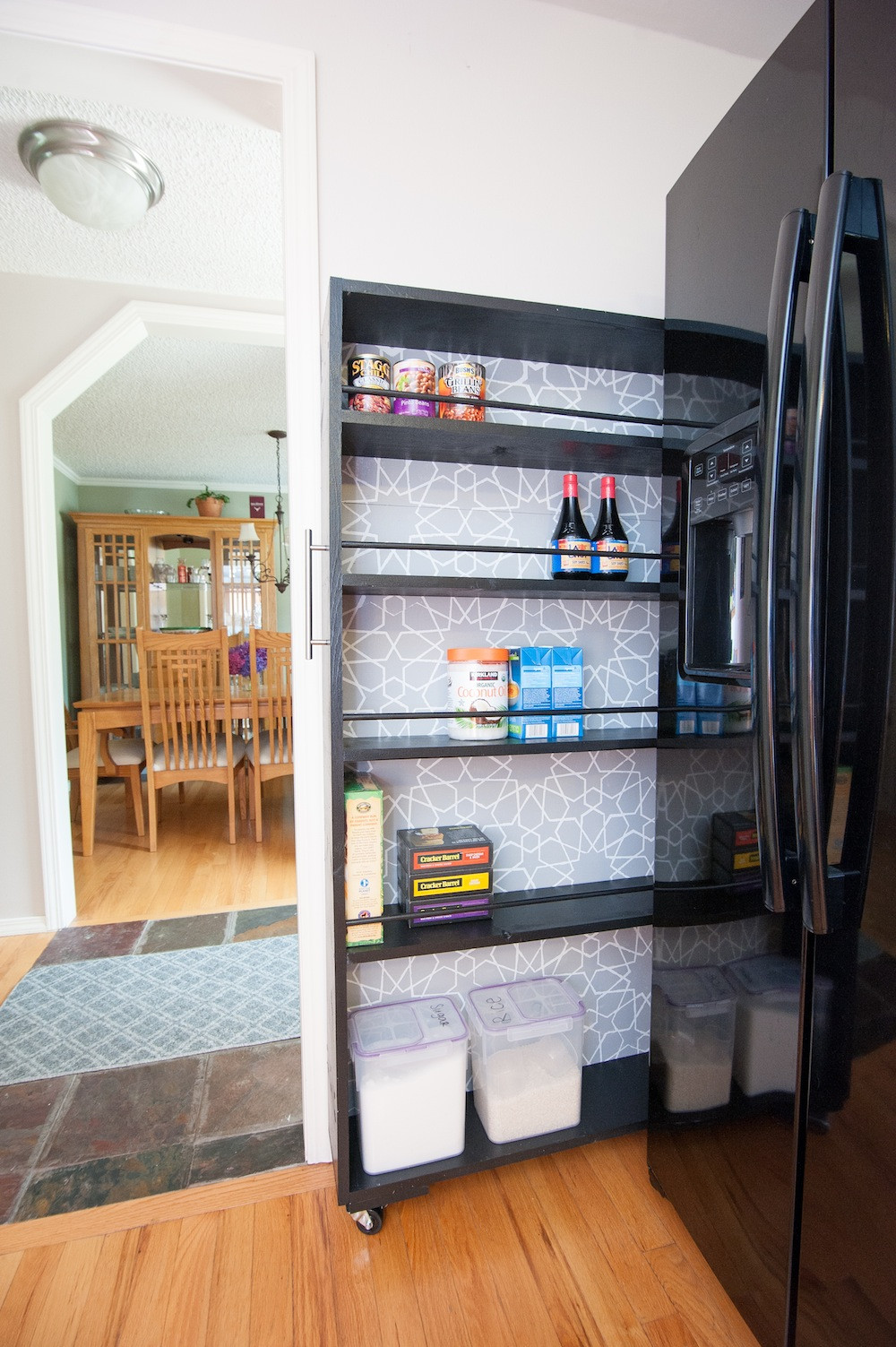 Best ideas about DIY Kitchen Pantry . Save or Pin The Space Saving Rolling Pantry A DIY Tutorial Zillow Now.