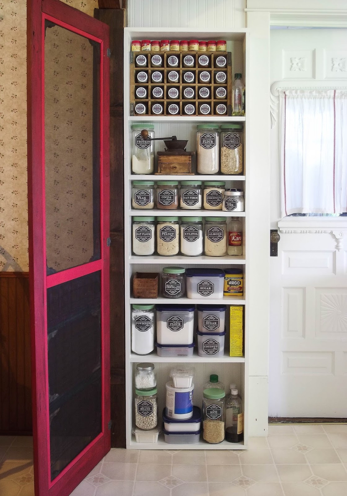 Best ideas about DIY Kitchen Pantry . Save or Pin The Olde Farmhouse on Windmill Hill Farmhouse Kitchen Now.