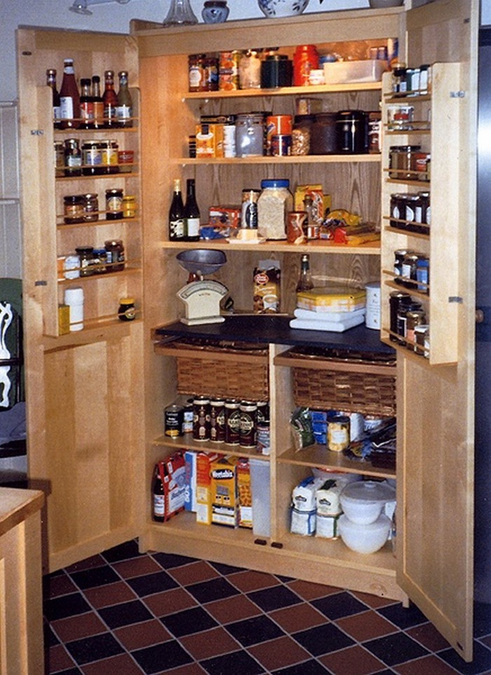 Best ideas about DIY Kitchen Pantry . Save or Pin A freestanding pantry for small spaces – Your Projects OBN Now.