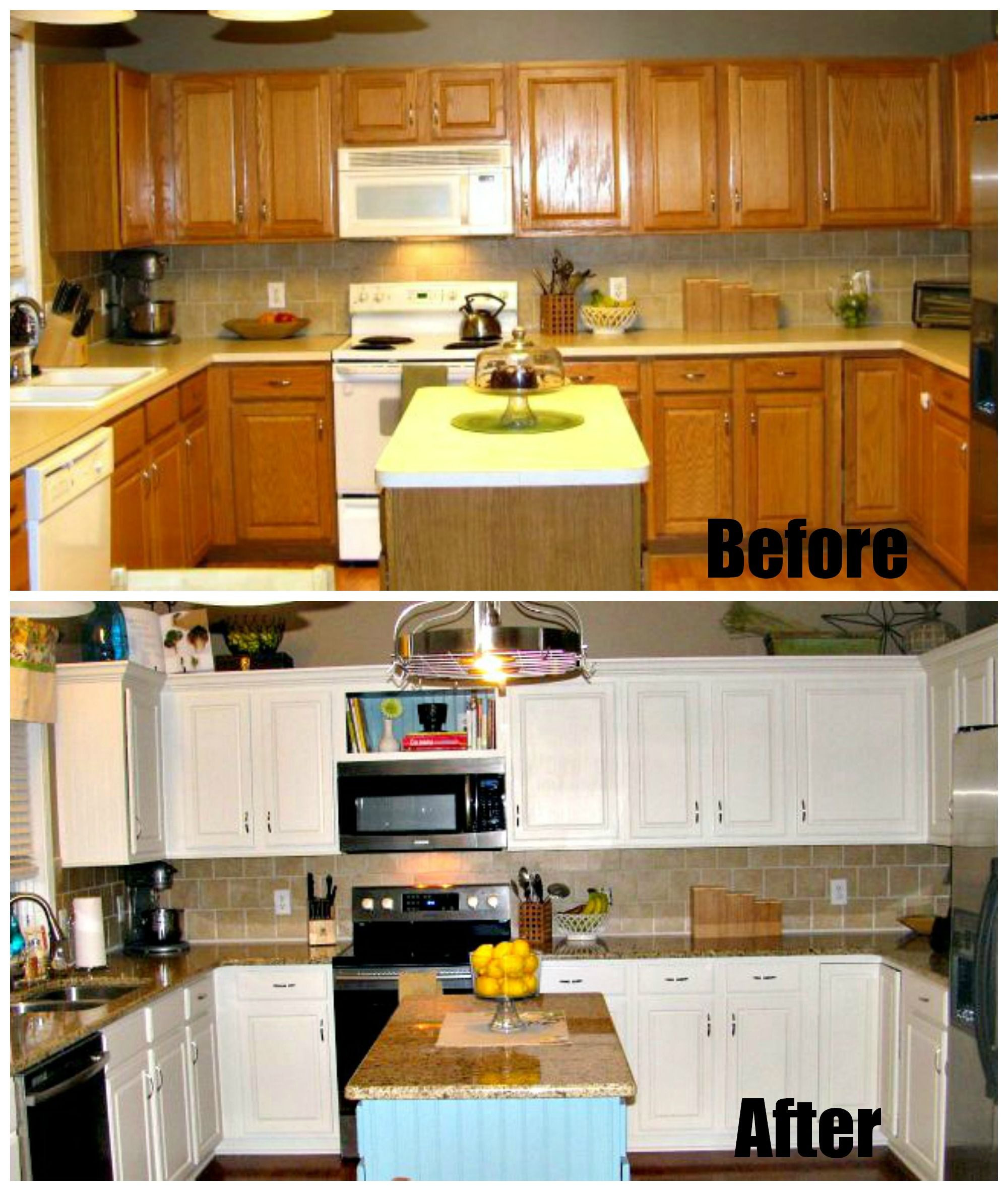 Best ideas about DIY Kitchen Remodel On A Budget . Save or Pin DIY low bud kitchen remodel Now.