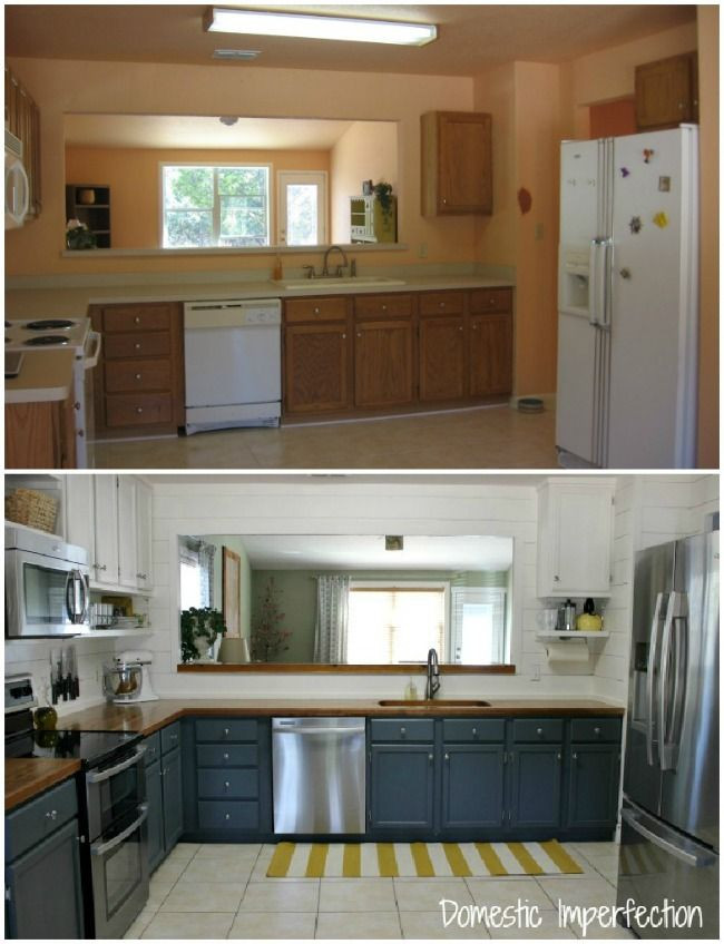 Best ideas about DIY Kitchen Remodel On A Budget . Save or Pin 20 Small Kitchen Renovations Before and After DIY Now.