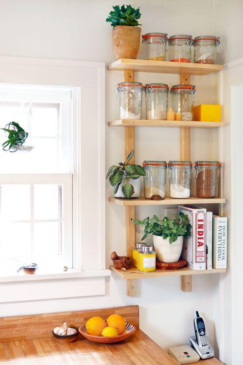 Best ideas about DIY Kitchen Shelving Ideas . Save or Pin 25 best Diy kitchen shelves ideas on Pinterest Now.