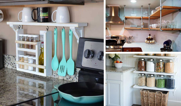 Best ideas about DIY Kitchen Shelving Ideas . Save or Pin Interesting and Practical Shelving Ideas for Your Kitchen Now.