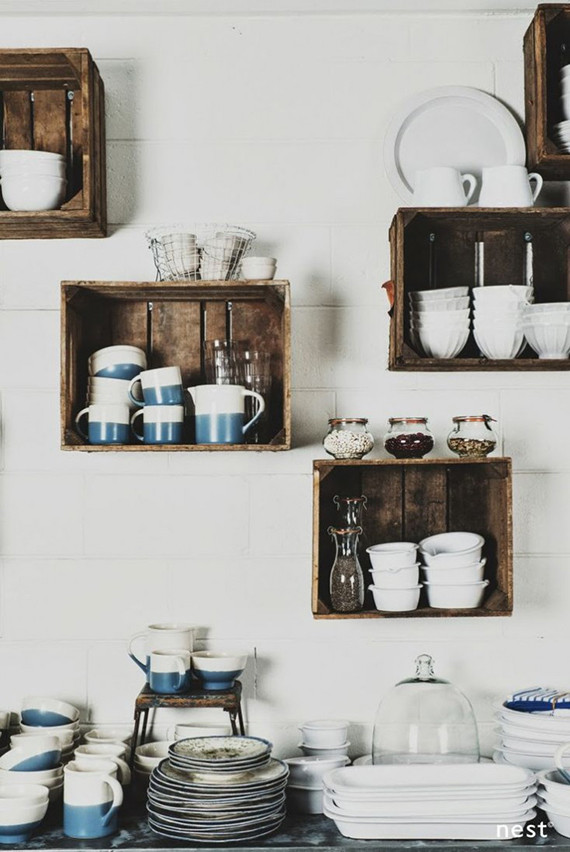Best ideas about DIY Kitchen Shelving Ideas . Save or Pin 5 creative kitchen storage ideas you can diy Now.