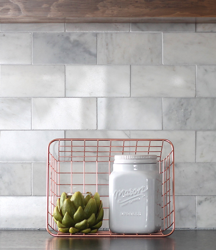 Best ideas about DIY Kitchen Tiling . Save or Pin DIY Marble Subway Tile Backsplash Tips Tricks and What Now.