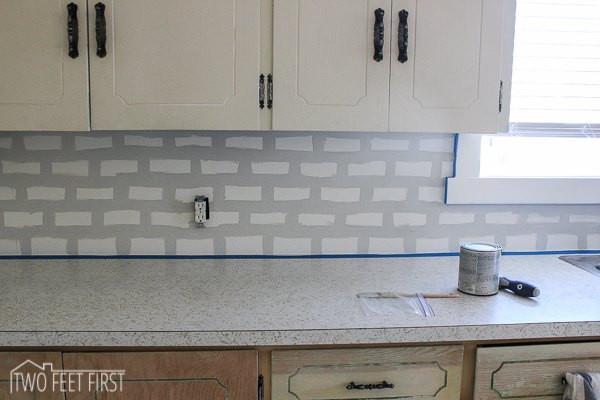 Best ideas about DIY Kitchen Tiling . Save or Pin DIY Cheap Subway Tile Backsplash Now.