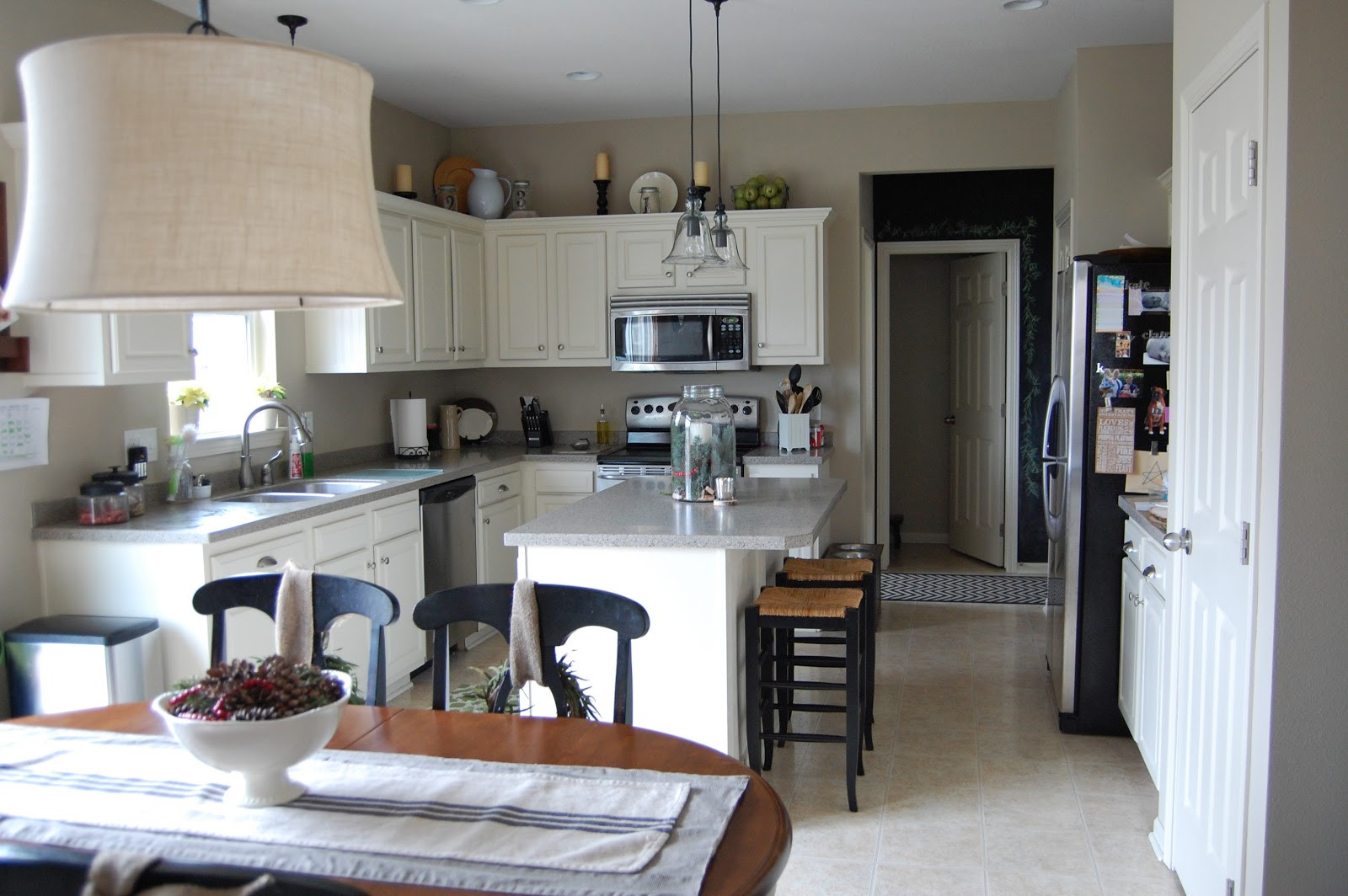 Best ideas about DIY Kitchen Updates . Save or Pin the V Side DIY Kitchen Island Update Now.