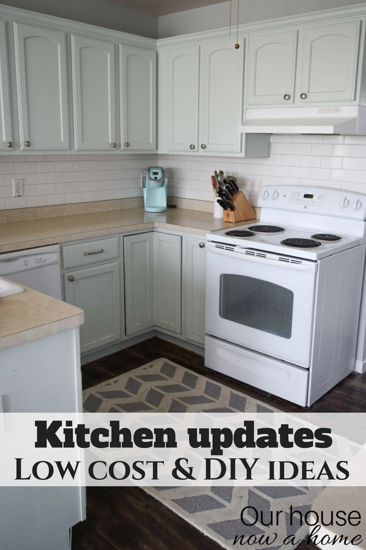 Best ideas about DIY Kitchen Updates . Save or Pin Improve a small kitchen with small updates and DIY ideas Now.