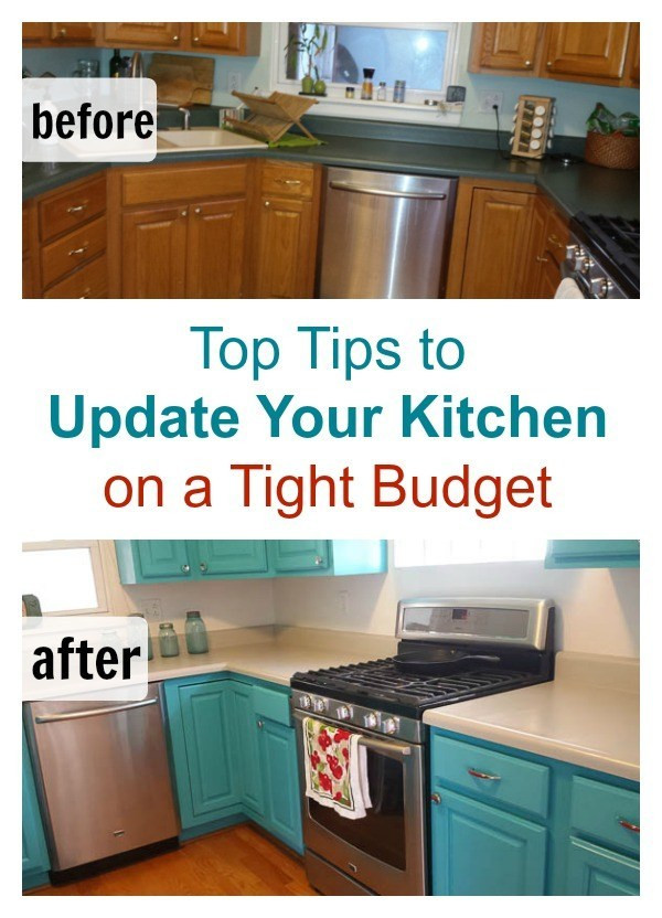 Best ideas about DIY Kitchen Updates . Save or Pin DIY Kitchen Remodel on a Bud Now.