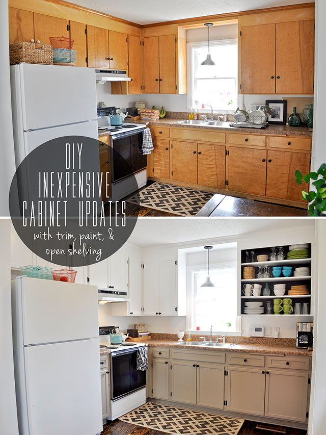 Best ideas about DIY Kitchen Updates . Save or Pin 20 Inspiring DIY Kitchen Cabinets Simple Do It Yourself Now.