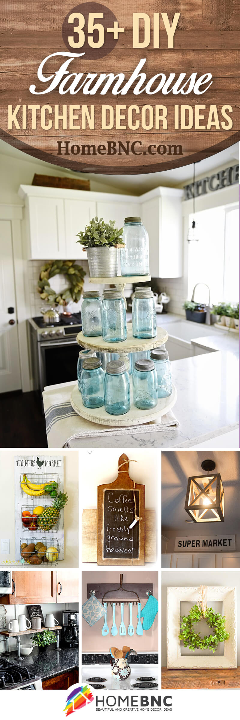 Best ideas about DIY Kitchens Ideas . Save or Pin 35 Best DIY Farmhouse Kitchen Decor Projects and Ideas Now.