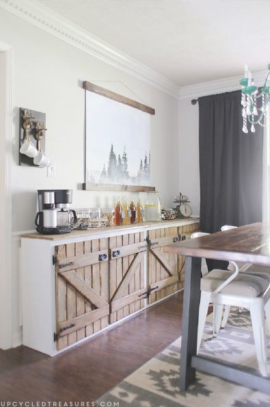 Best ideas about DIY Kitchens Ideas . Save or Pin Upcycled Barnwood Style Cabinet Now.