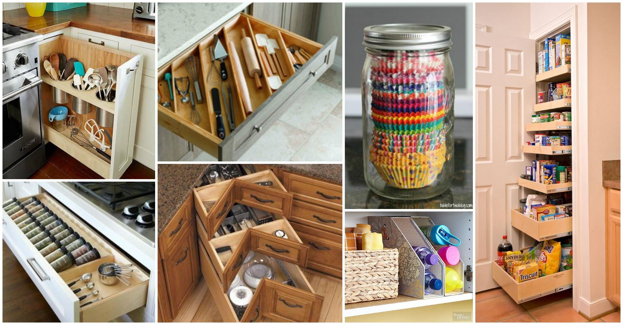 Best ideas about DIY Kitchens Ideas . Save or Pin DIY Kitchen Storage Ideas Now.