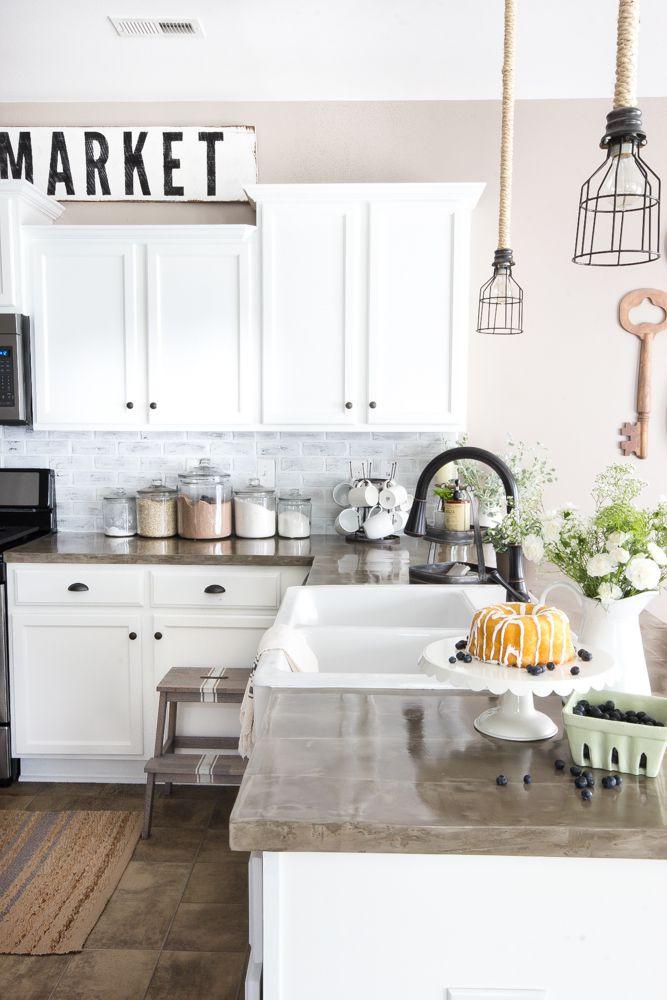 Best ideas about DIY Kitchens Ideas . Save or Pin 9 DIY Kitchen Backsplash Ideas Now.