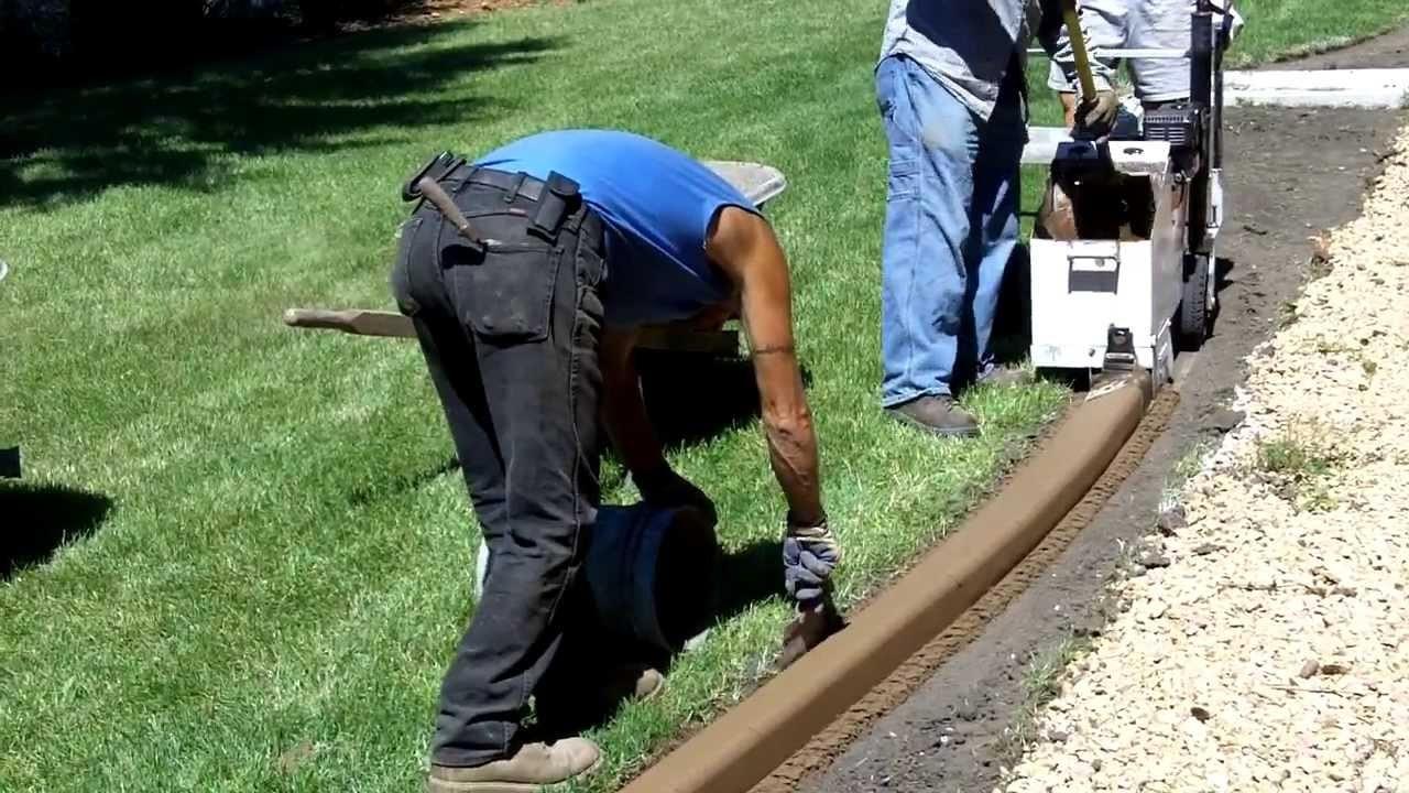 Best ideas about DIY Landscape Curbing . Save or Pin Diy Concrete Landscape Edging — Bistrodre Porch and Now.