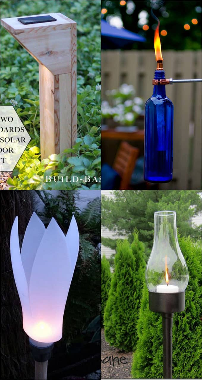 Best ideas about DIY Landscape Lighting . Save or Pin 28 Stunning DIY Outdoor Lighting Ideas & So Easy Now.