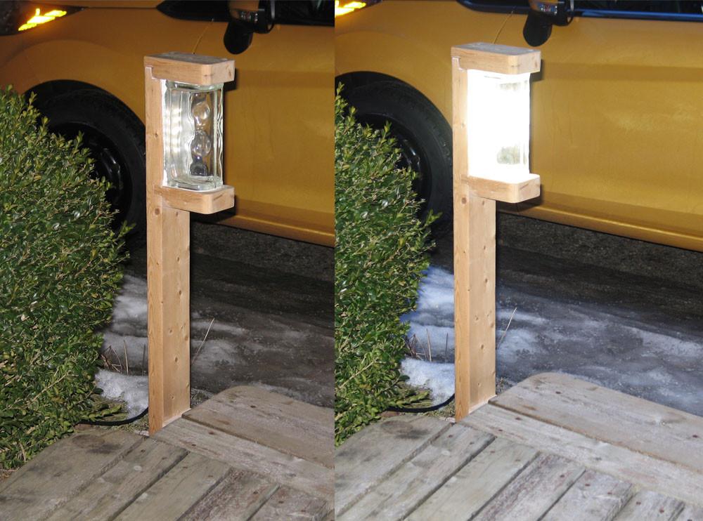 Best ideas about DIY Landscape Lighting . Save or Pin georgesworkshop a very bright 1 watt diy led garden light Now.