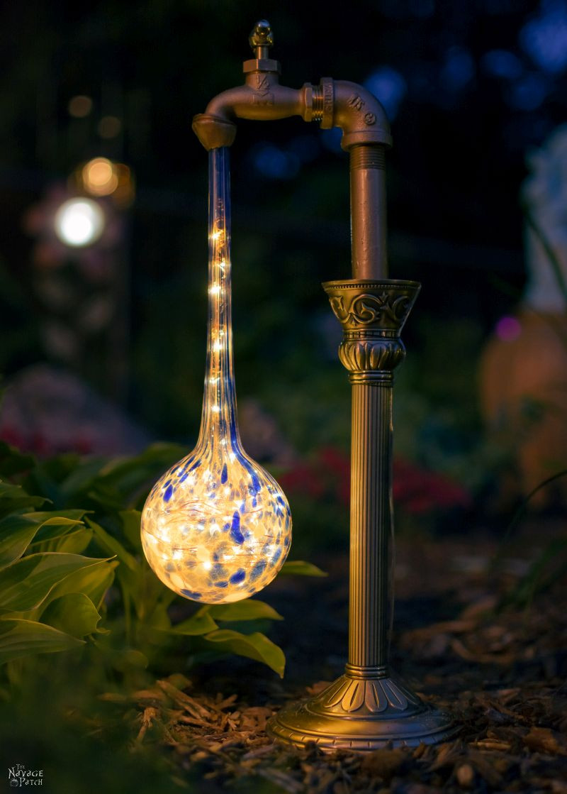 Best ideas about DIY Landscape Lighting . Save or Pin Creative and Easy DIY Outdoor Lighting Ideas The Navage Now.