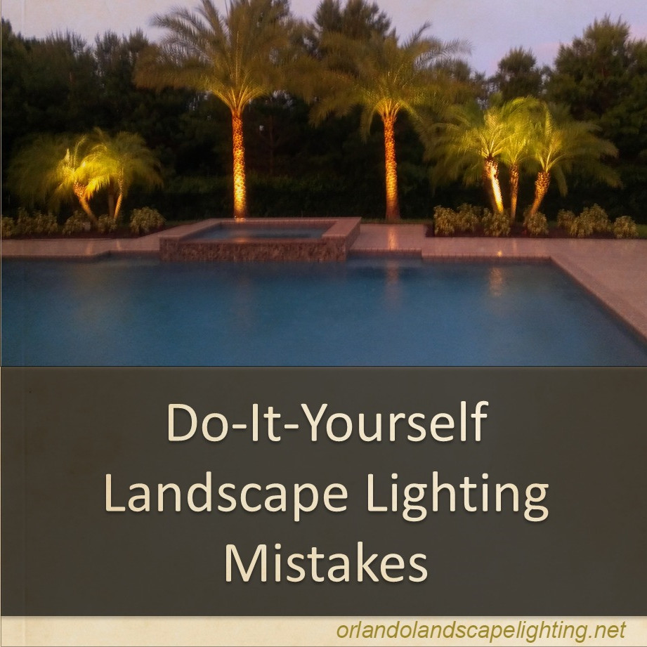 Best ideas about DIY Landscape Lighting . Save or Pin Top 3 DIY Landscape Lighting Mistakes Now.