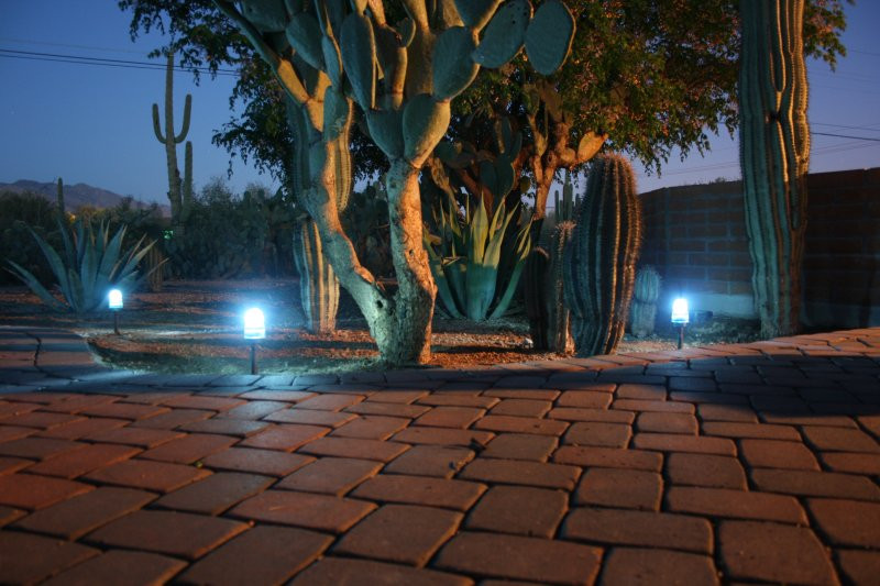Best ideas about DIY Landscape Lighting . Save or Pin DIY Landscaping Lights Hacked Gad s – DIY Tech Blog Now.