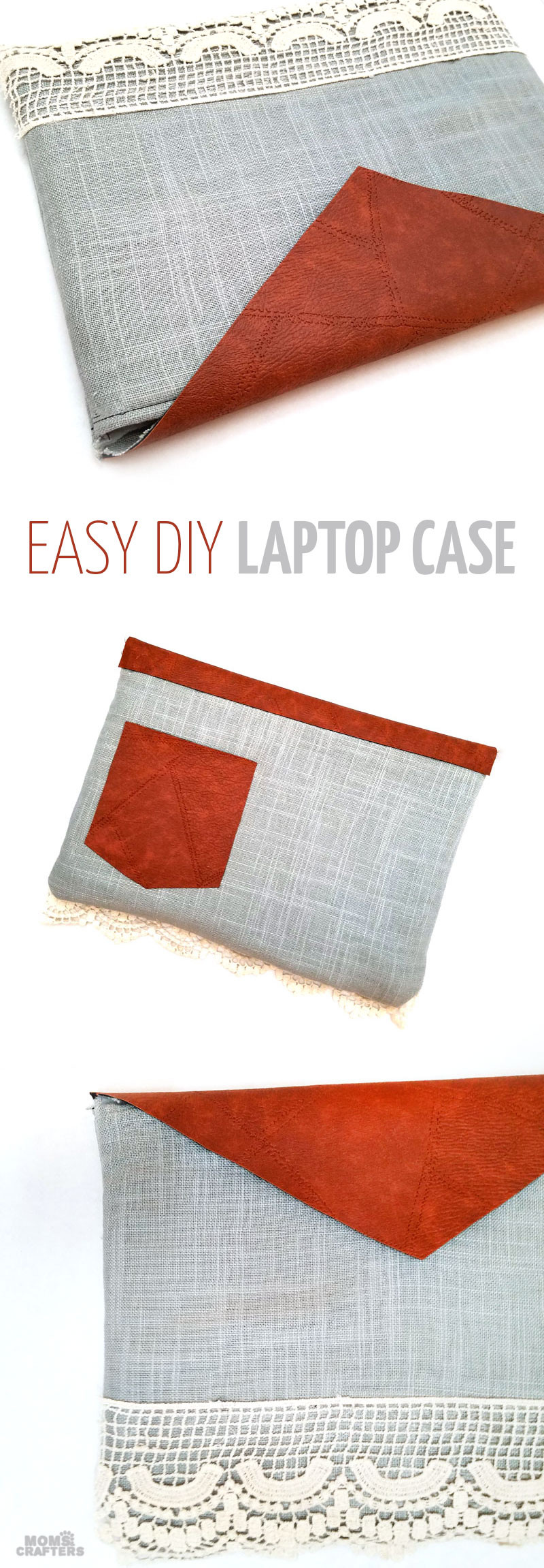 Best ideas about DIY Laptop Sleeve . Save or Pin DIY Laptop Sleeve to fit any size laptop puter Now.
