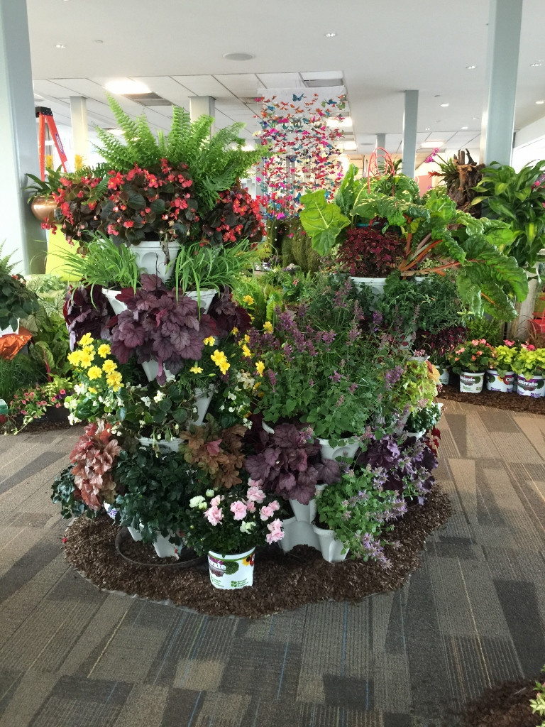 Best ideas about DIY Large Planters . Save or Pin DIY Vertical Garden Stackable Planters Now.
