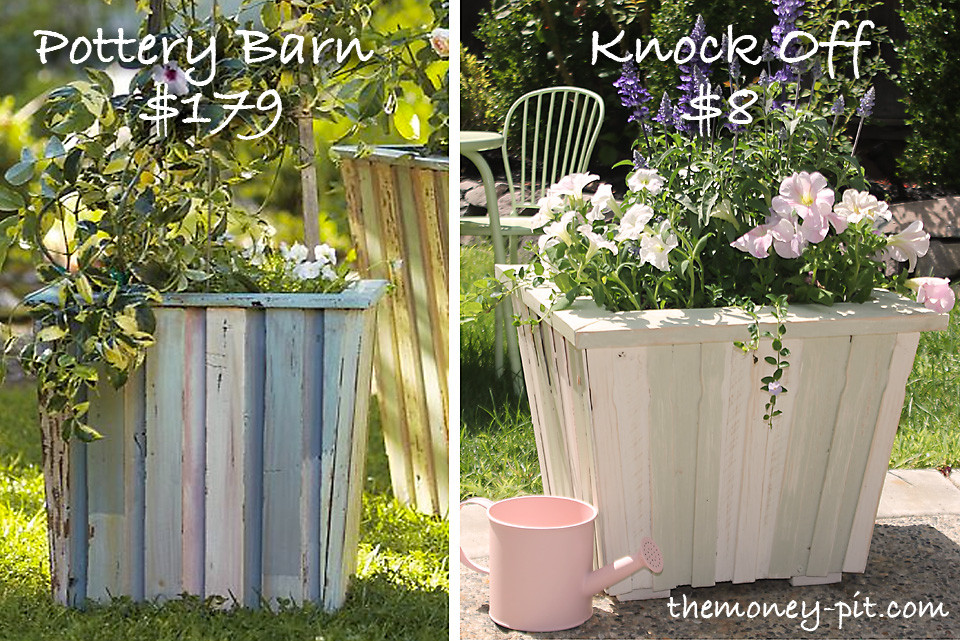 Best ideas about DIY Large Planters . Save or Pin I was browsing through my Pottery Barn catalog and fell in Now.