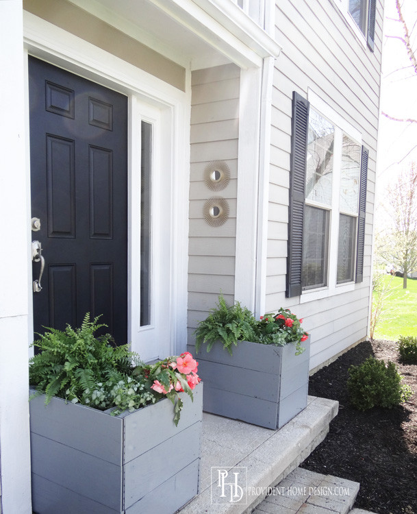 Best ideas about DIY Large Planters . Save or Pin DIY Wooden Planters Now.