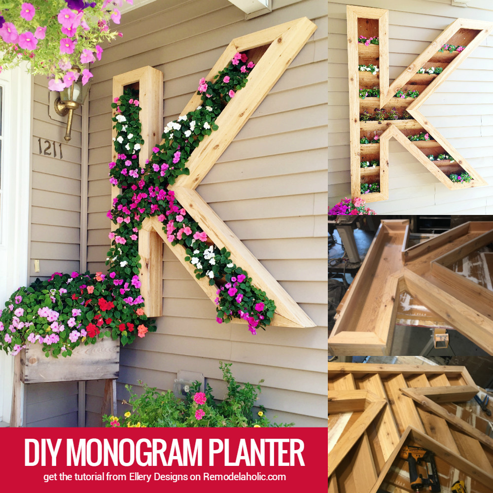 Best ideas about DIY Large Planters . Save or Pin Remodelaholic Now.