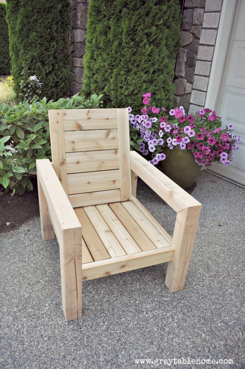 Best ideas about DIY Lawn Furniture . Save or Pin Ana White Now.